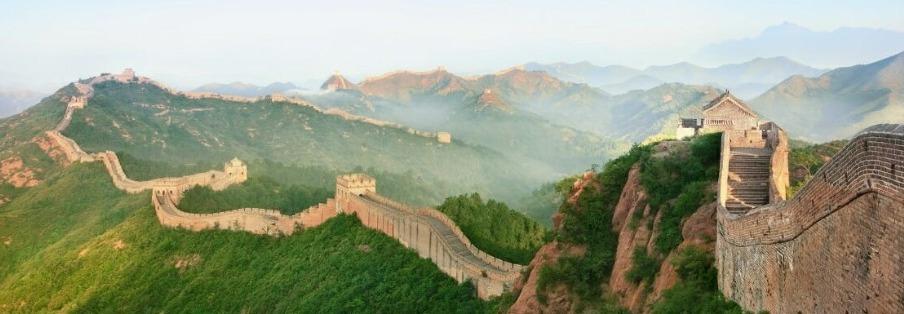 De bekende Chinese muur