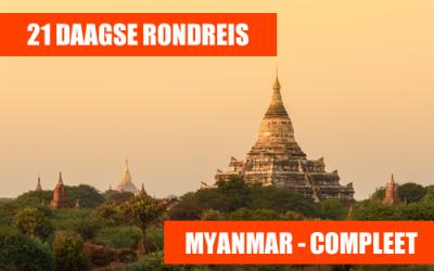 21 daagse rondreis Myanmar compleet